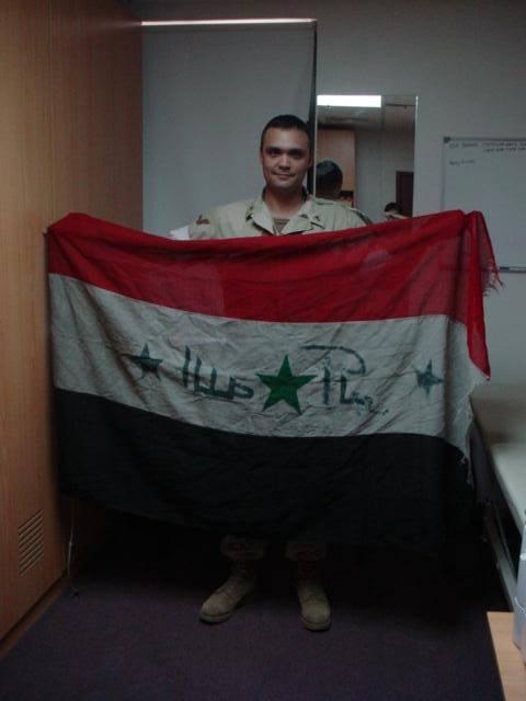 Stolen Iraqi Flag 11091210