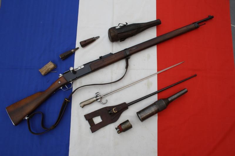 Fusil modèle 1886 M93 'Lebel' 00212