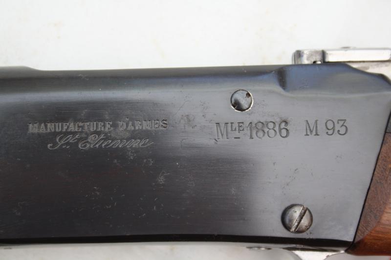 Fusil modèle 1886 M93 'Lebel' 02310