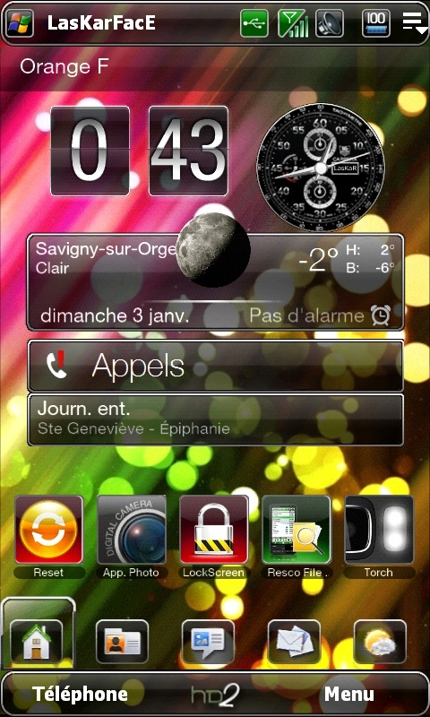 Et si on postait nos Today et nos wallpaper ici .... Screen29
