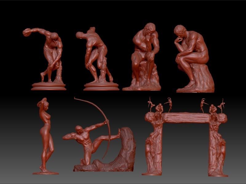 Outils modernes et sculpture traditionnelle Sculpt10