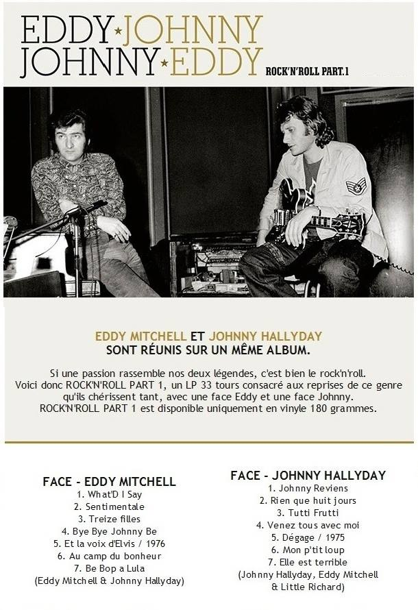 "Timbres Johnny Hallyday ""Tour 66"" 19595010"