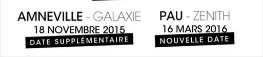 """Tournée 2015/2016 de johnny """"RESTER VIVANT """" Dates de tournée et Part 1 les festivals Captur24"""