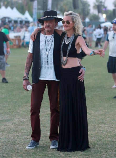 Johnny Hallyday :  weekend à Coachella Johnny14