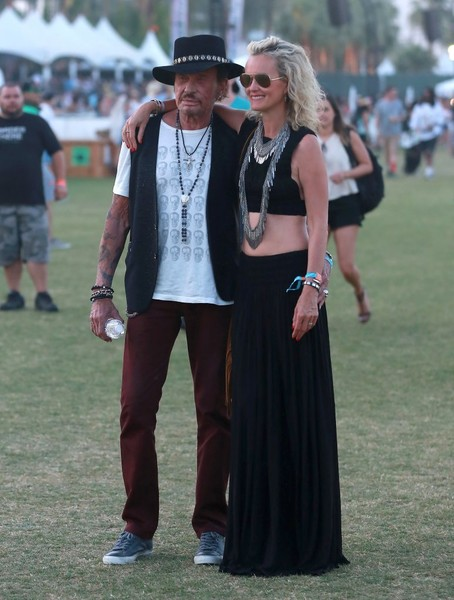 Johnny Hallyday :  weekend à Coachella Johnny15