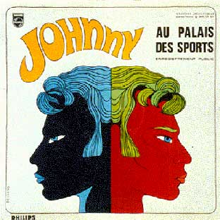 "Timbres Johnny Hallyday ""Tour 66"" Palais10"