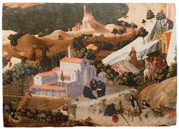 Un panneau inédit de Fra Angelico Un-pan10