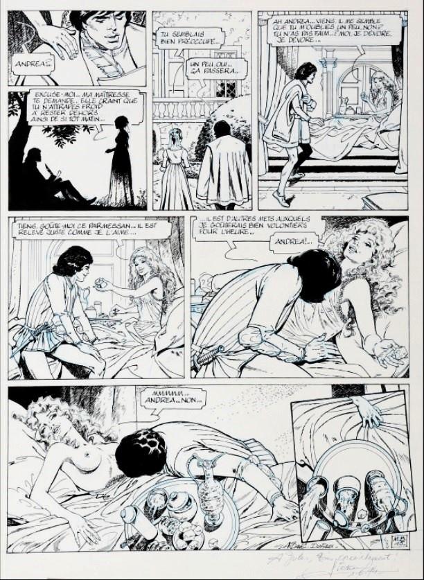 La toile et la dague d'Edouard Aidans Aidans12
