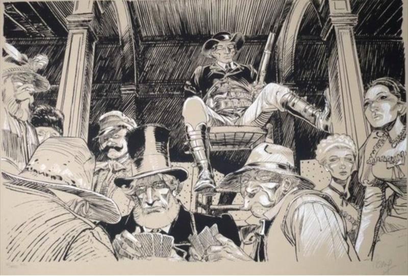 Francois Boucq, un style oscillant entre réalisme cru et humour absurde - Page 2 Boucqb10