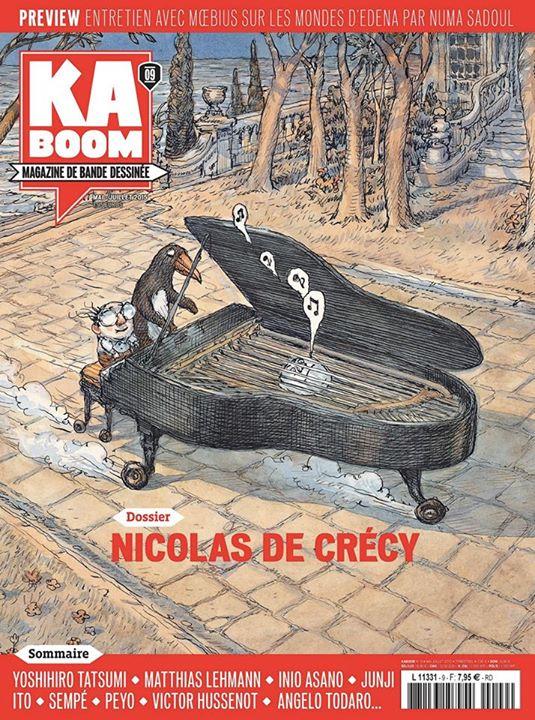 Kaboom, une nouvelle revue sur la BD - Page 2 Kaboom10