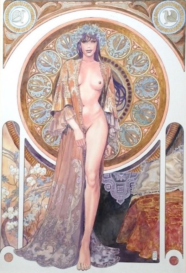 Manara, du côté d'Eros...et d'ailleurs Manara14