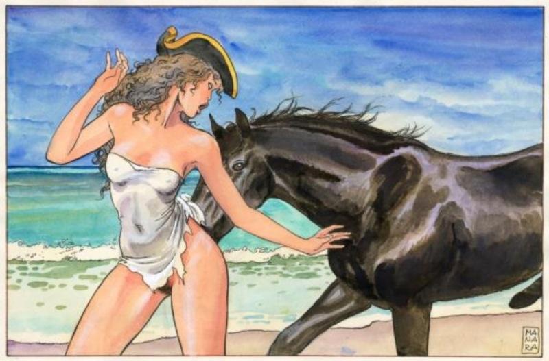 Manara, du côté d'Eros...et d'ailleurs Manara16