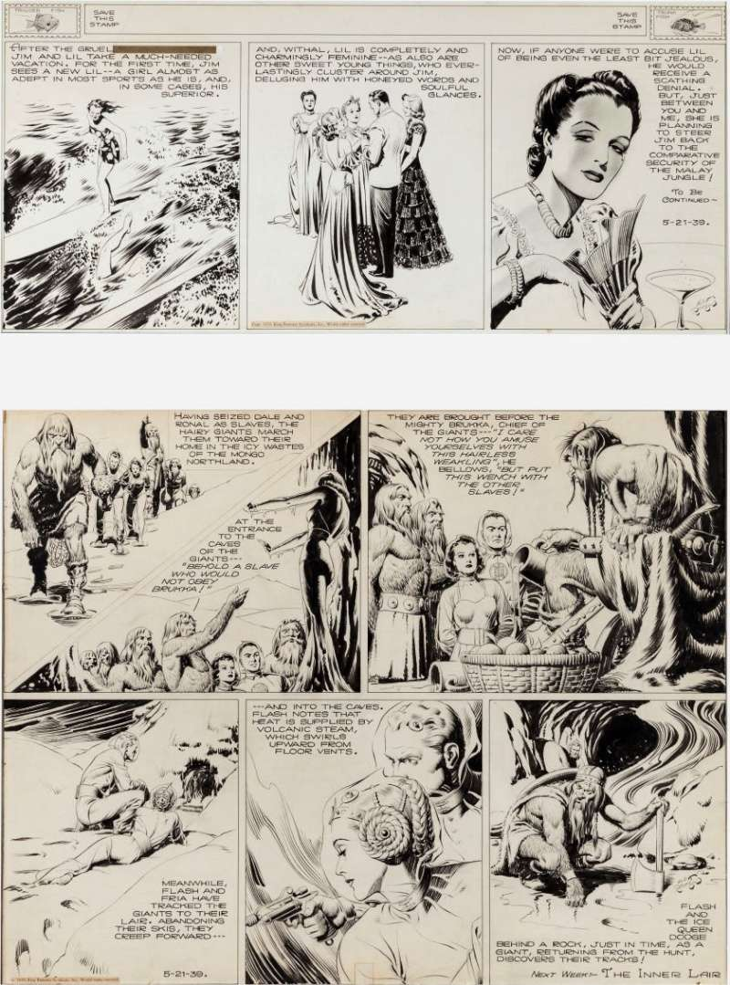 Alex RAYMOND et ses personnages - Page 4 Raymon10