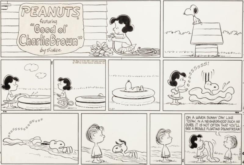"""La saga """"Peanuts"""" - Page 4 Schulz14"""