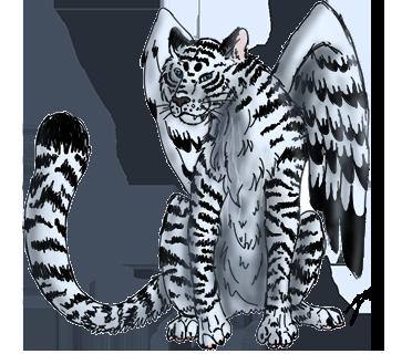 Laehvärr, tigre ailé Adbae810