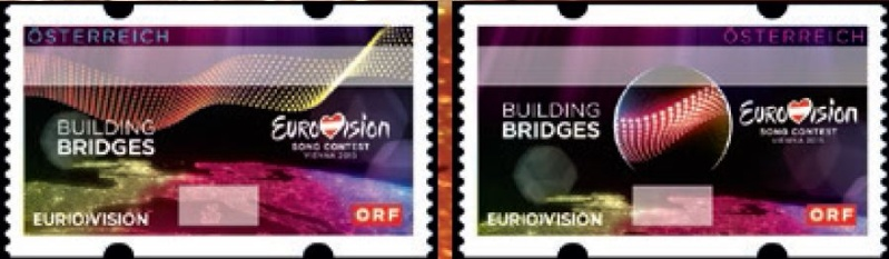 "Automatenmarken ""Eurovision Song Contest"" Awz10"