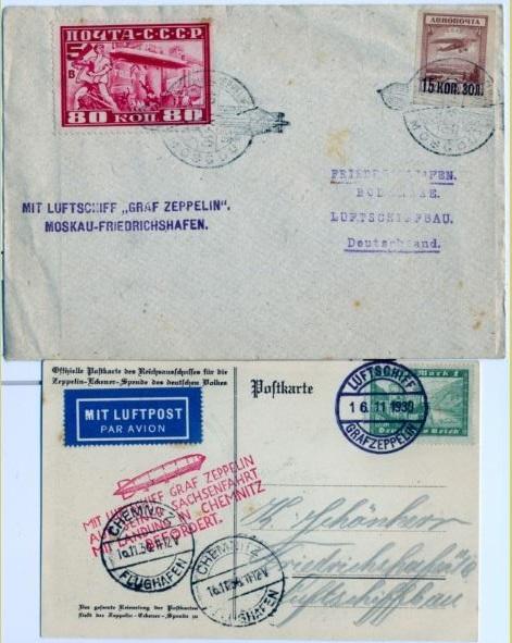 Zeppelin LZ 127 + Hindenburg Ernst_10
