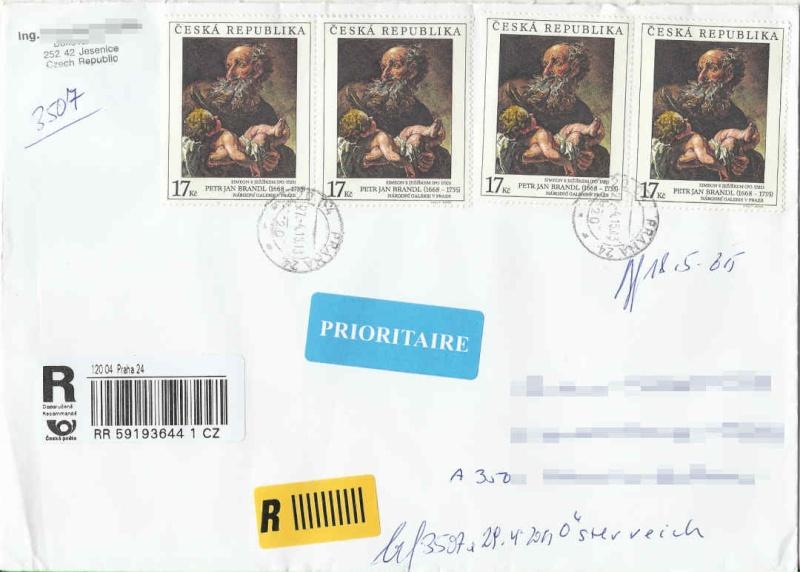 Sammlerpost - Seite 6 Tschec10