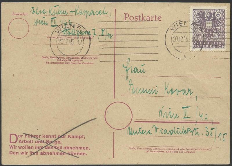 Notmaßnahmen und Provisorien bei Postkarten 1945-1948 Yberkl10