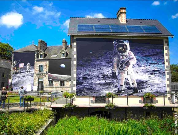 Les 45 ans d'Apollo 11 ont été dignement fêtés en Bretagne Festiv10