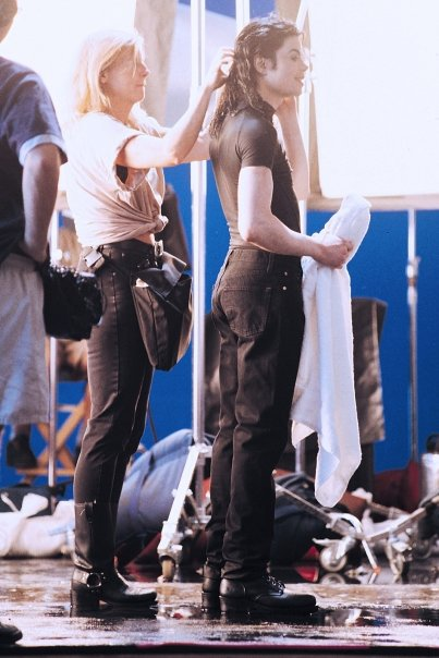 Photos Making of des clips de MJ ! Making10