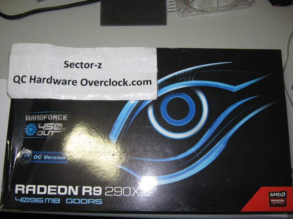 FS- Gigabyte R9 290X 4GB OC WINDFORCE 3X 450W Img_0521