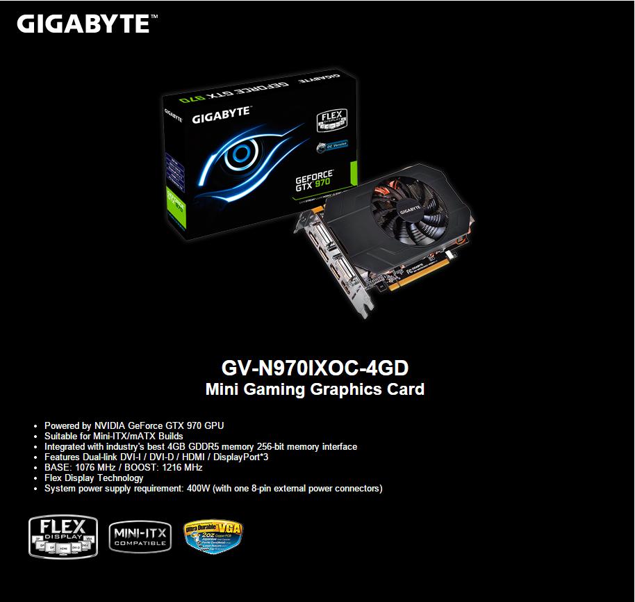 FS- Gigabyte GTX 970 Mini OC Mini210