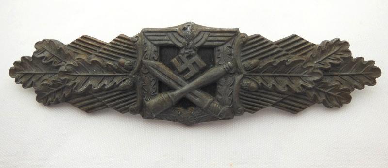 """Barette des corps a corps ,bronze sans marquage """"modéle 6 points"""" Dscn0513"""