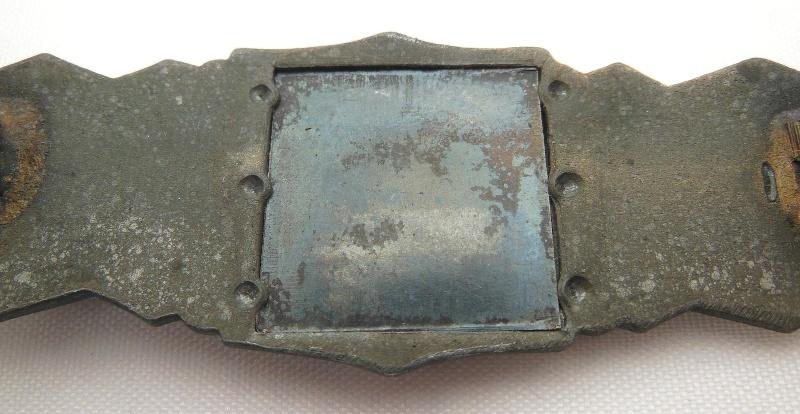 """Barette des corps a corps ,bronze sans marquage """"modéle 6 points"""" Dscn0517"""