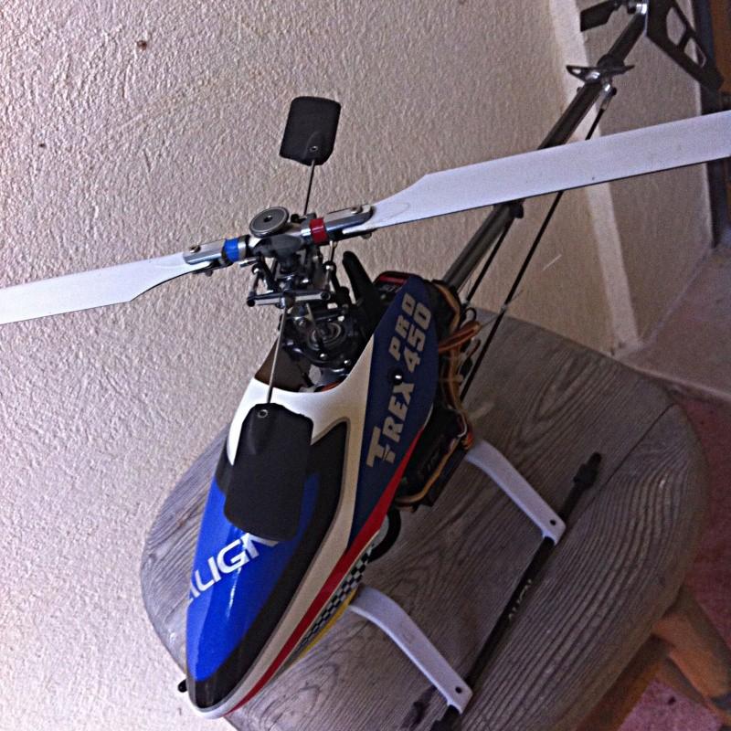 gyro - Clone TREX 450 Pro Img_0910