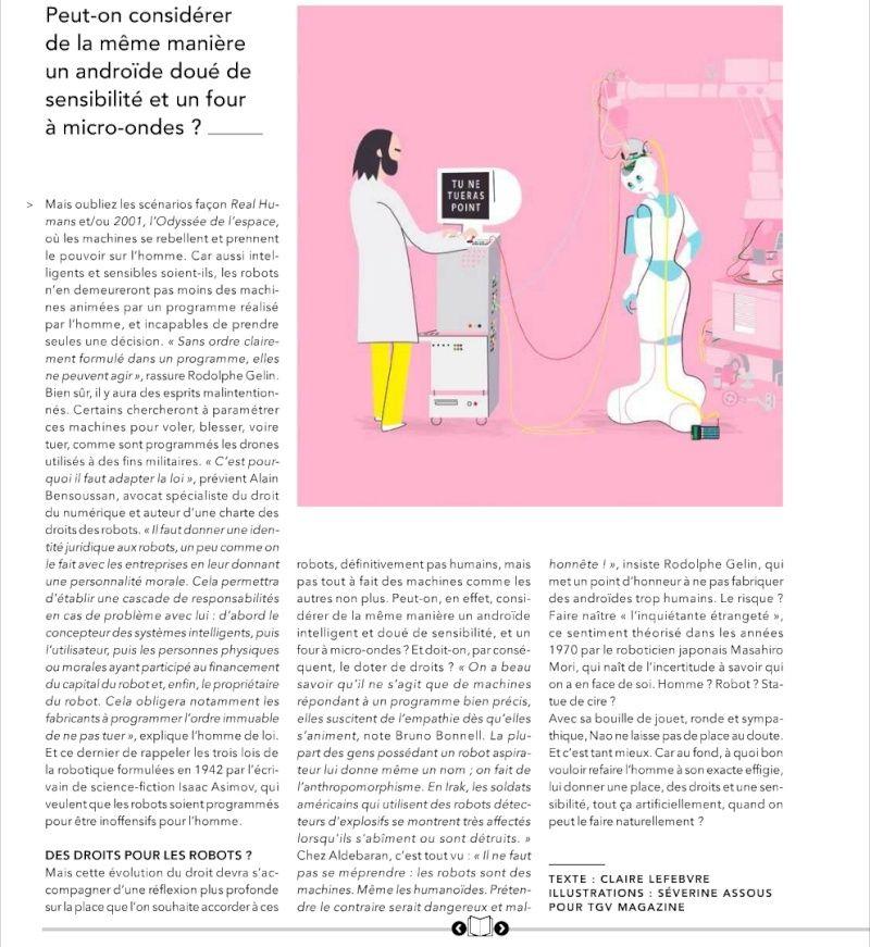 (Article) Nos amis les Robots. 411