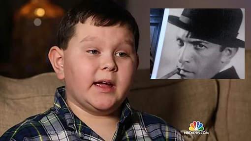 A 10 ans, il prétend être la réincarnation d'un acteur hollywoodien.  Media_10