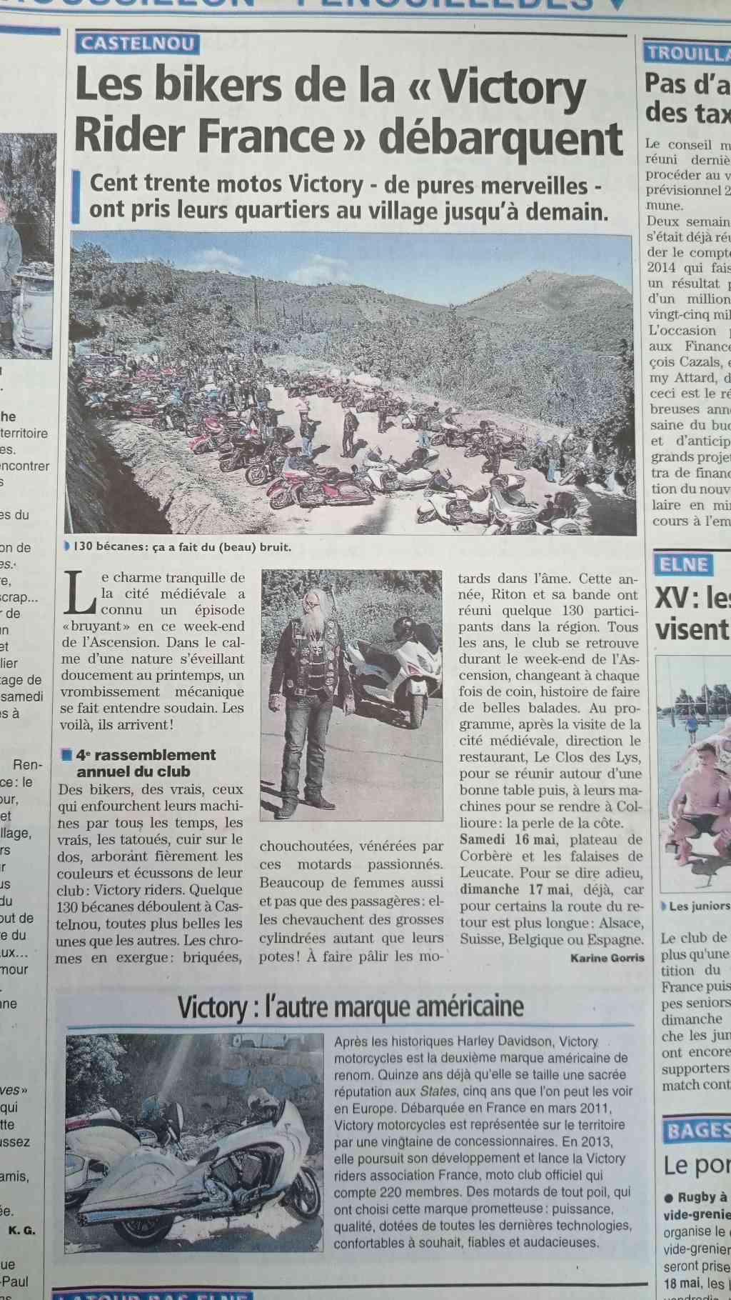 Revue de presse : La virée des Victory Riders en pays Catalan Dsc_0115