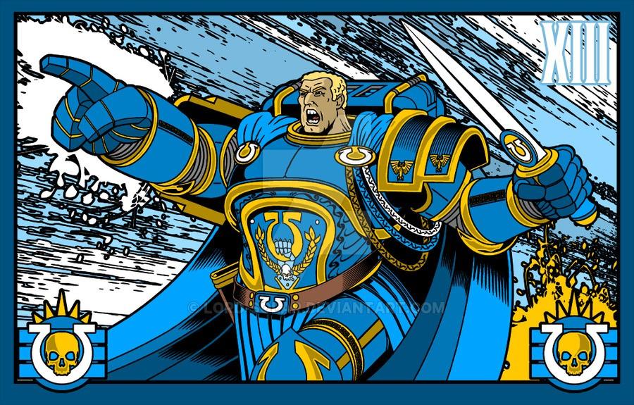 "[W40K] L'empereur et les primarques selon ""lord-solar(kurt-metz)"" 1eab6110"