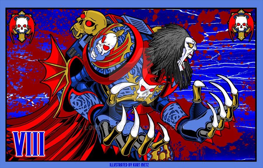 "[W40K] L'empereur et les primarques selon ""lord-solar(kurt-metz)"" 312ad810"