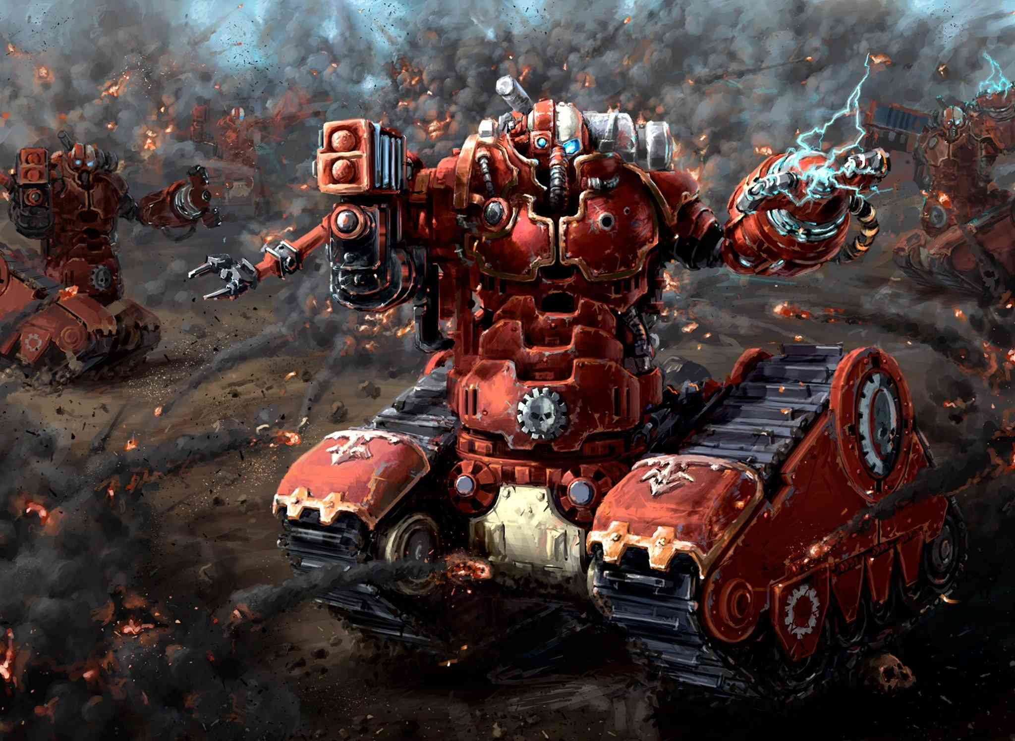 [W40K] Collection d'images : Adeptus Mechanicus - Page 2 48938310