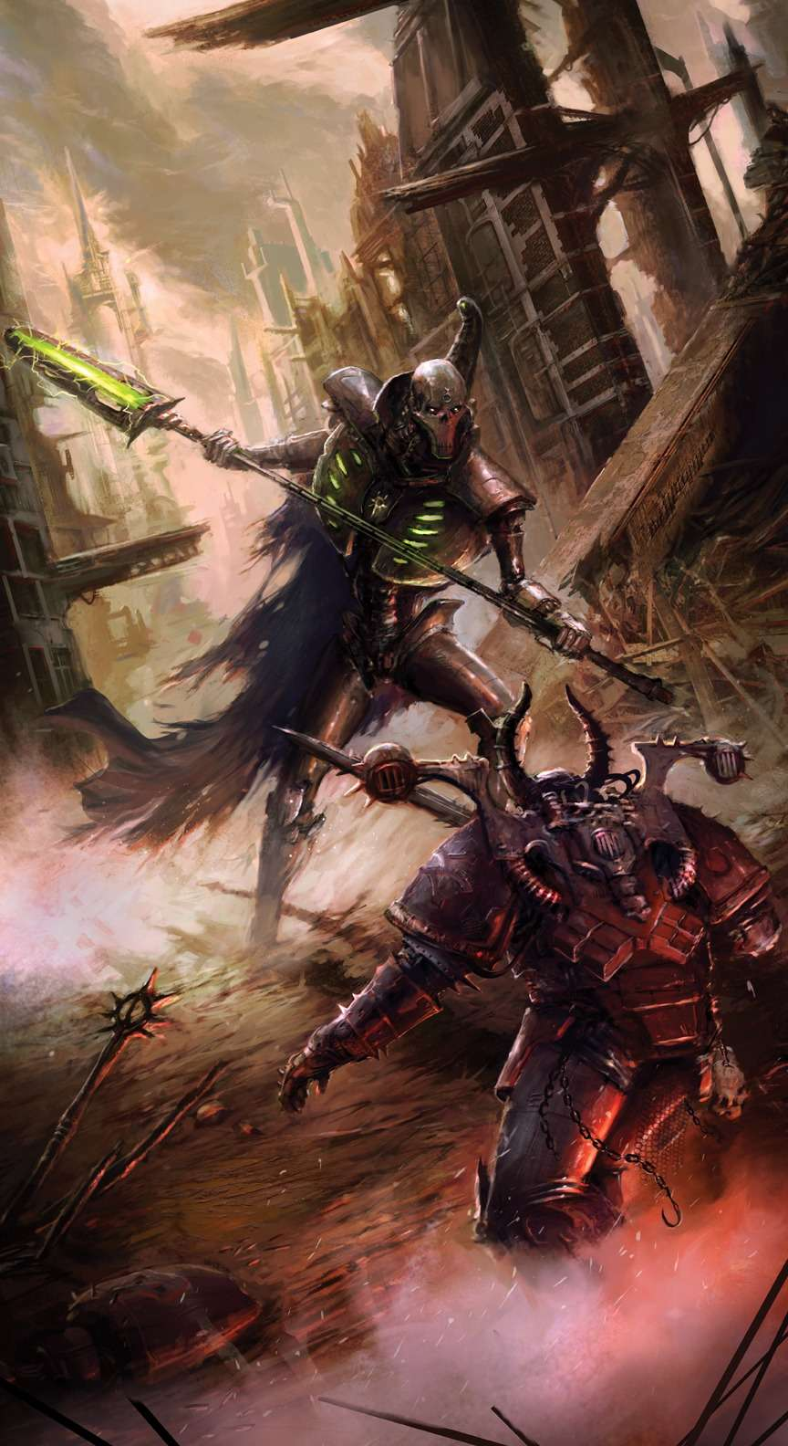 [W40K] Collection d'images : Warhammer 40K divers et inclassables - Page 3 Necron10