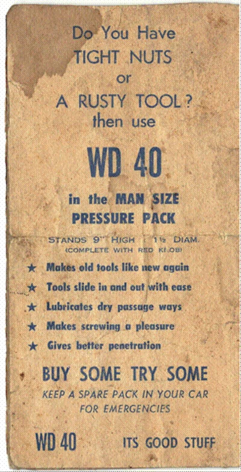 genuine ad from 1964 Image010