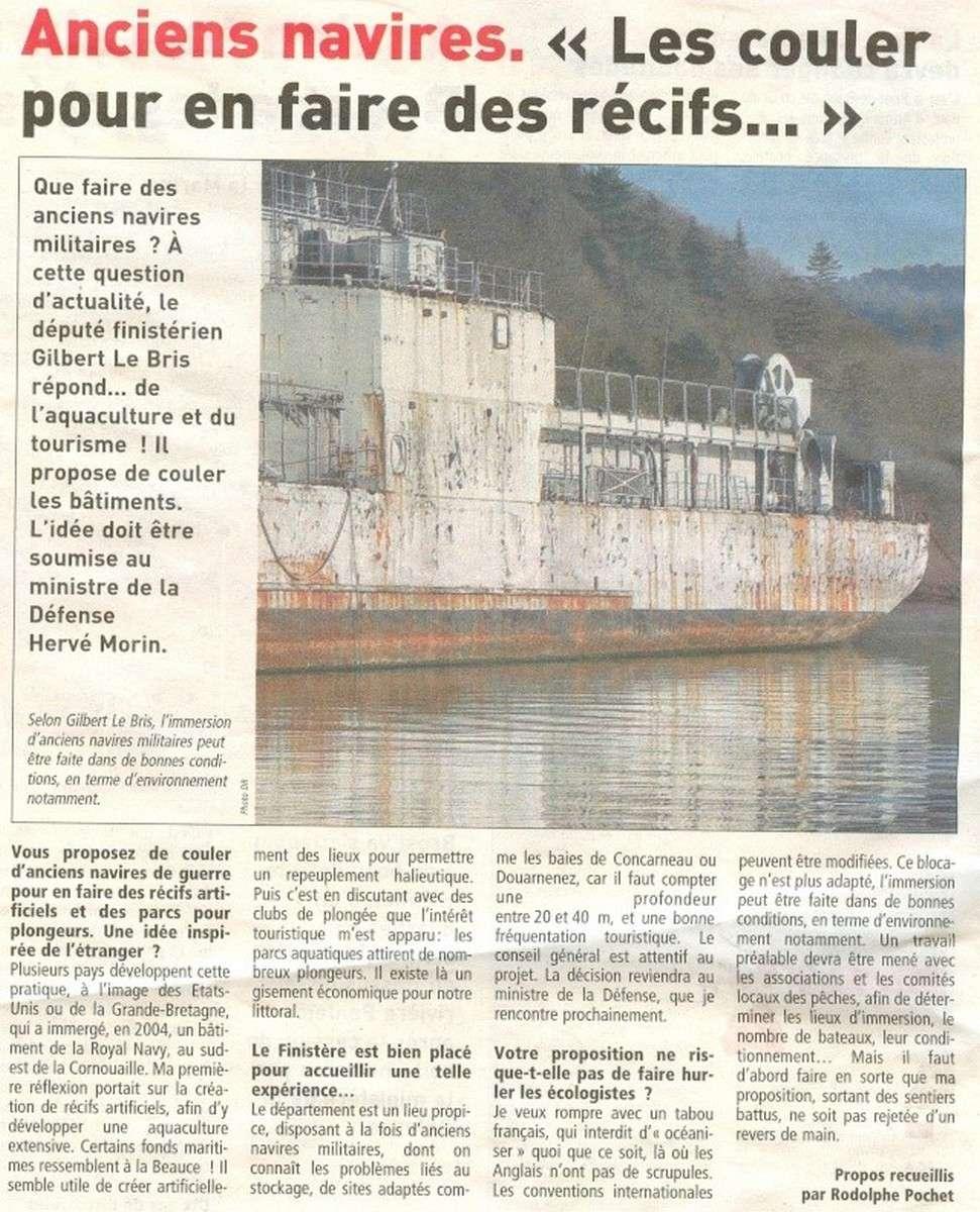 [Autre sujet Marine Nationale] Démantèlement, déconstruction des navires - TOME 1 114
