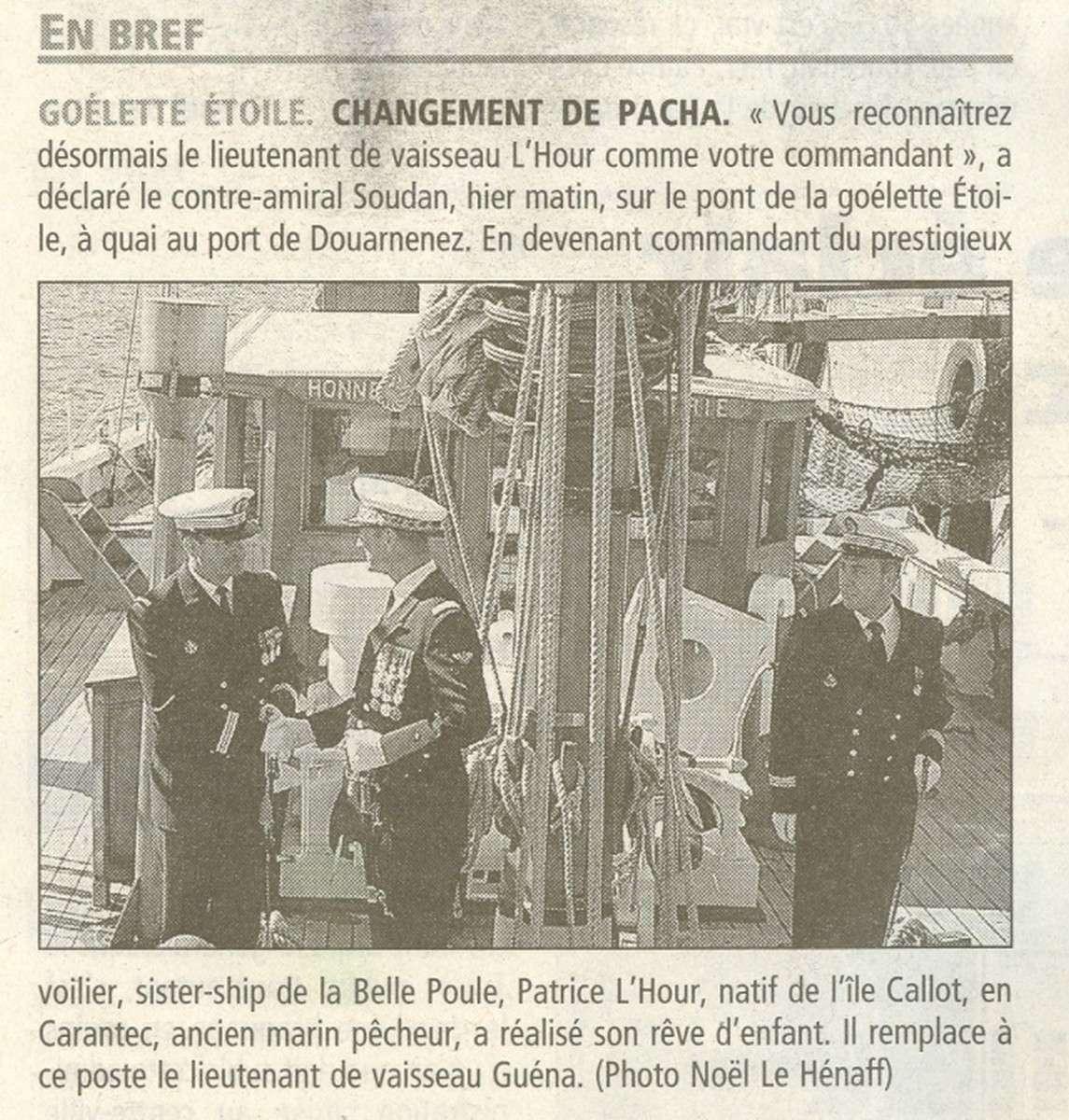L'ÉTOILE ET LA BELLE-POULE (BE) - Page 2 141