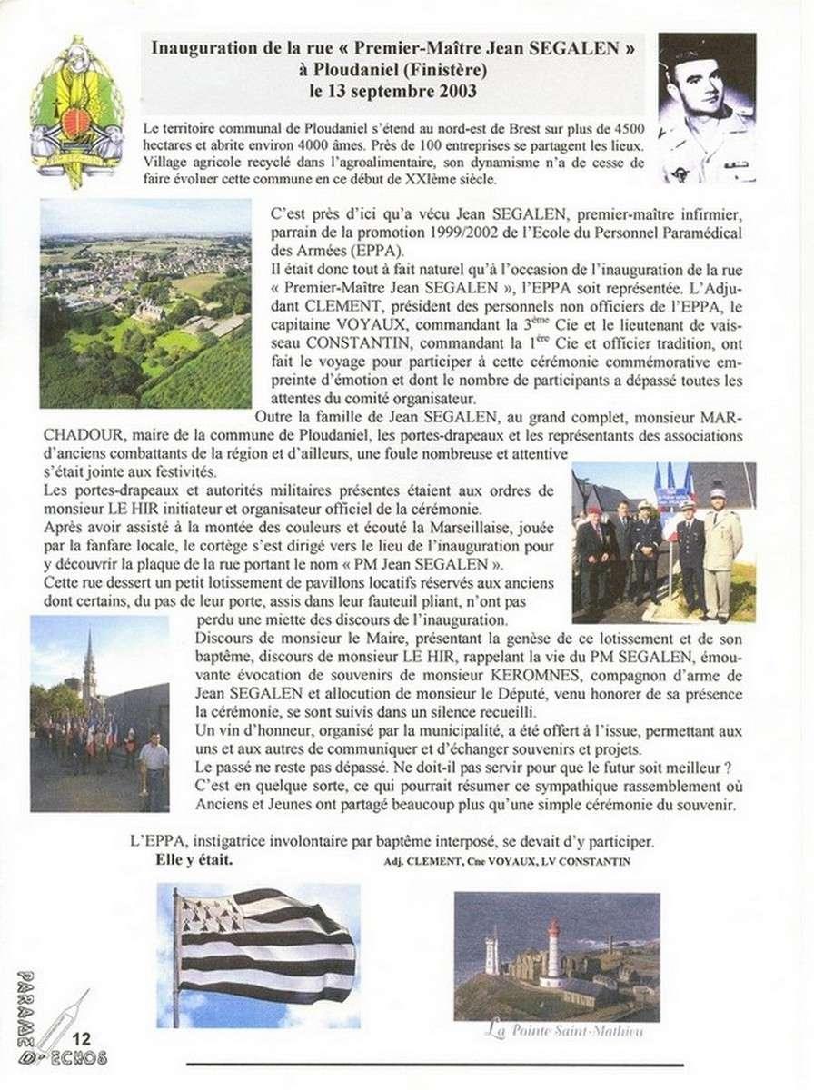 [ Histoires et histoire ] Rue du Premier Maître Jean SEGALEN 2147