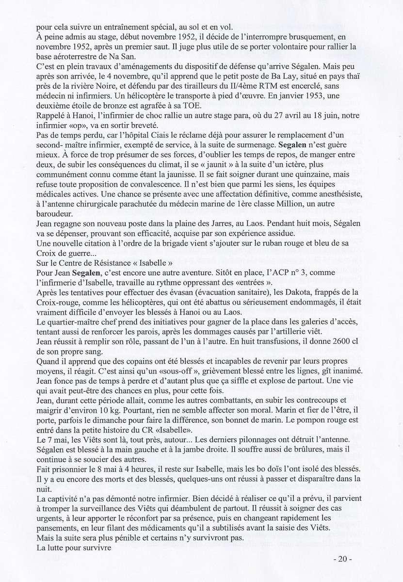 [ Histoires et histoire ] SEUL POMPON ROUGE à DIEN-BIEN-PHU - Page 5 3116