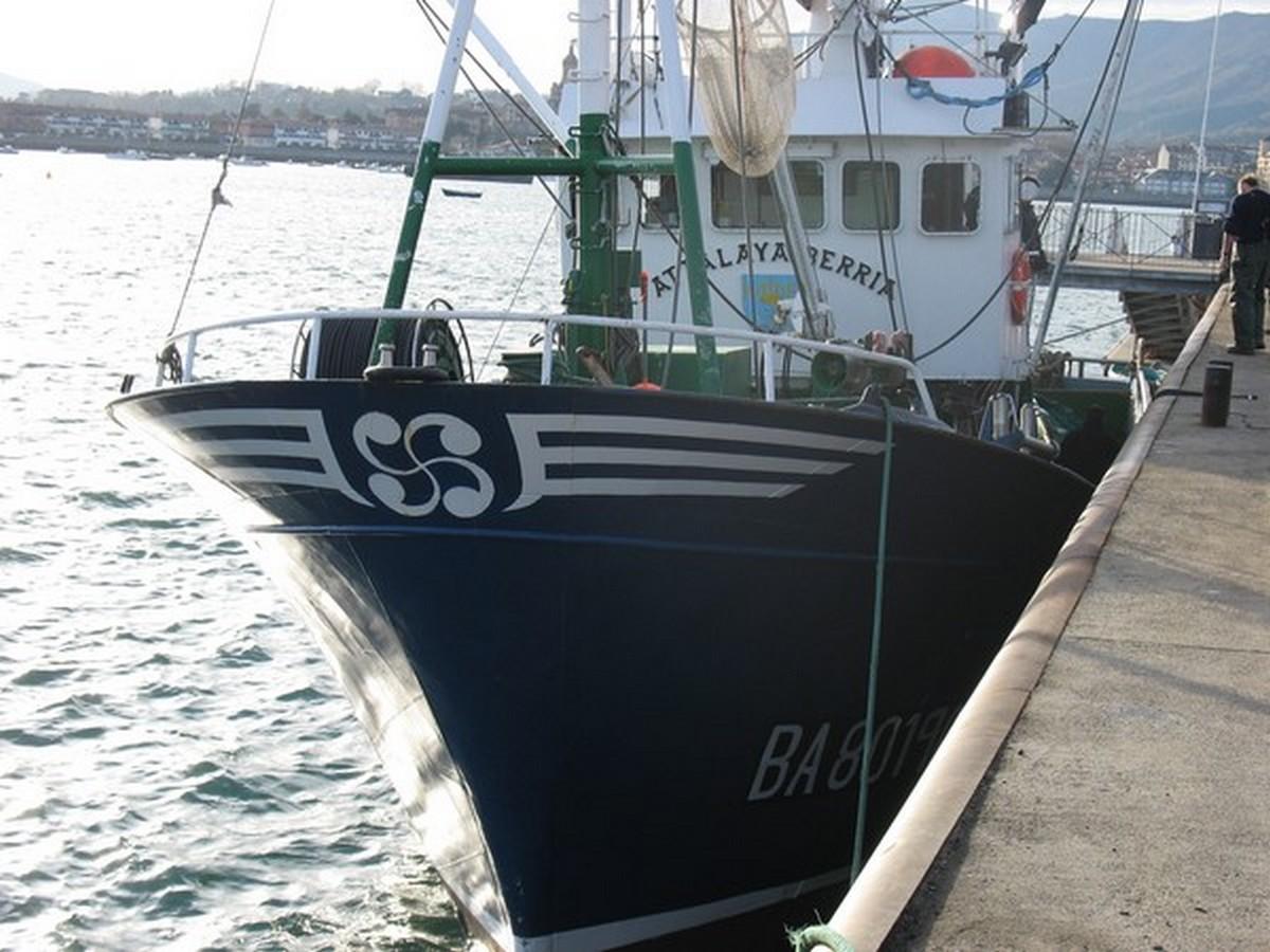 Le Port d'Hendaye. 312