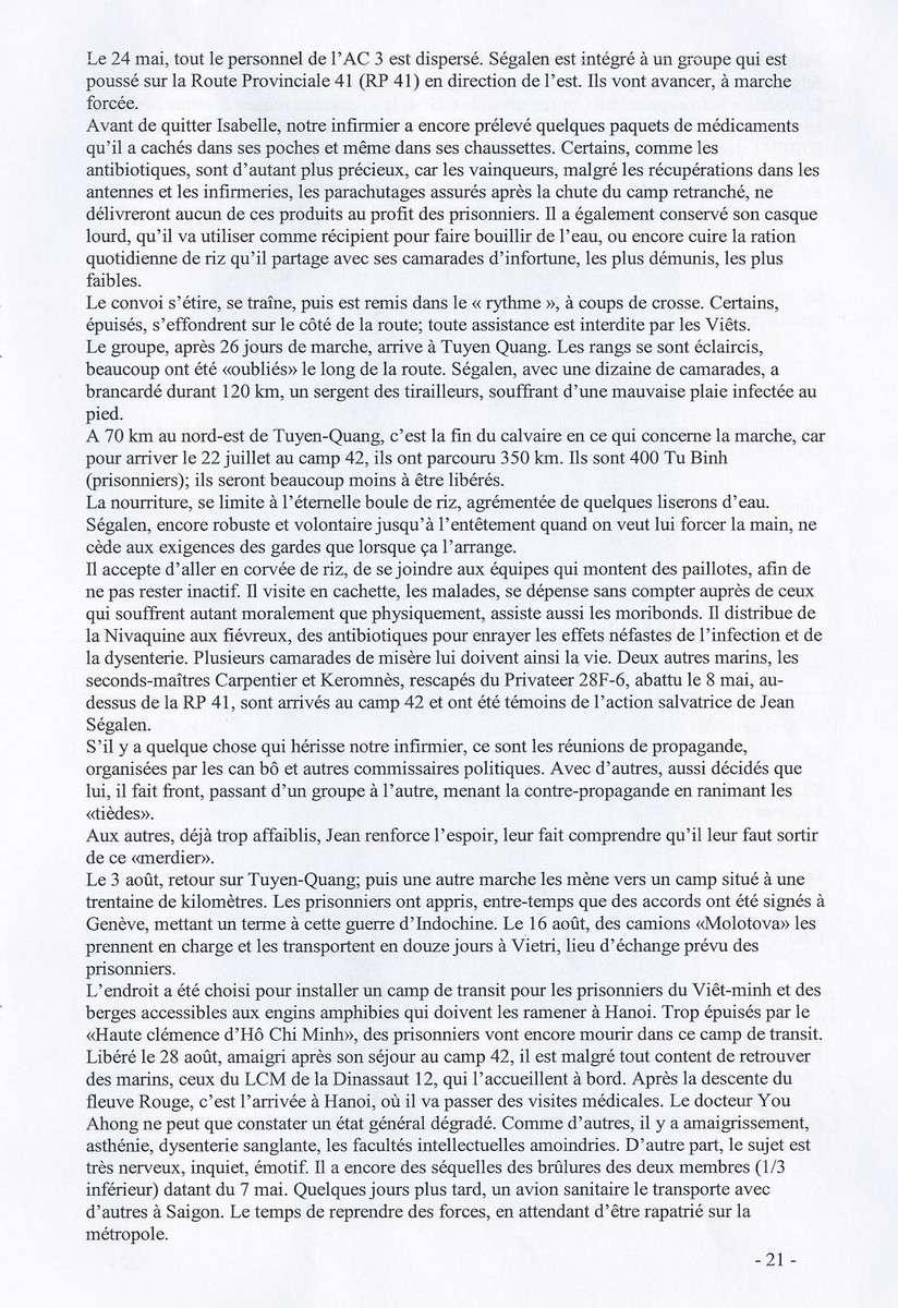 [ Histoires et histoire ] SEUL POMPON ROUGE à DIEN-BIEN-PHU - Page 5 494