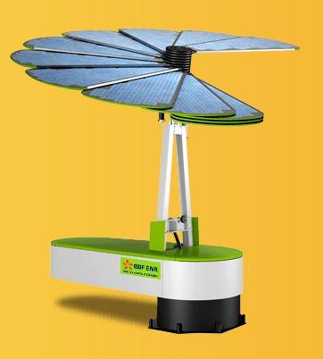 la fleur intelligente, smartflower, un panneau solaire déployable qui suit le soleil Smart_14