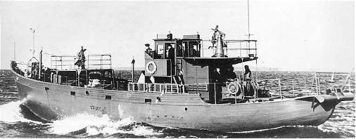 TESTBAU Kriegsfischkutter KFK 133 (UJ 1766), KMW² in 1/250 Kfk110