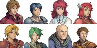 Facesets Fire emblem + quelques faces géants Facese25