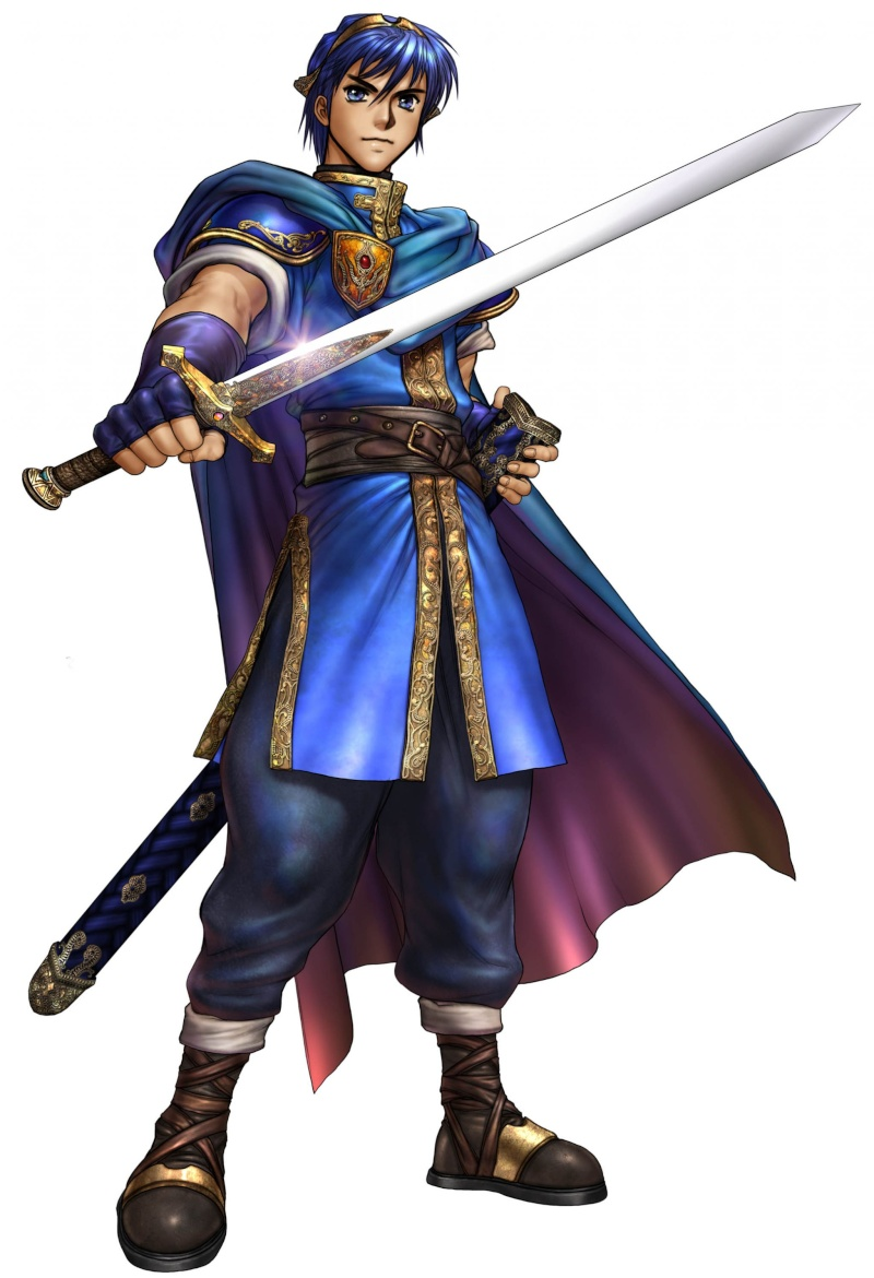 Märn, écuyer royal Marth10