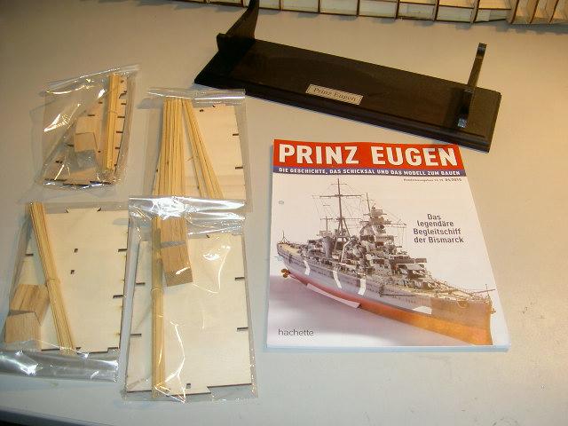 Prinz Eugen 1:200 von Hachette, gebaut von Herbie Bild_128