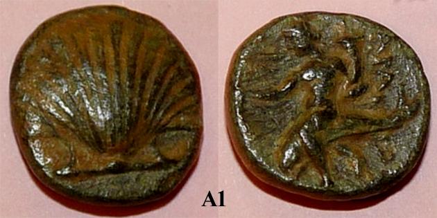 Identification lot monétaire - TD étudiant en archéologie A110